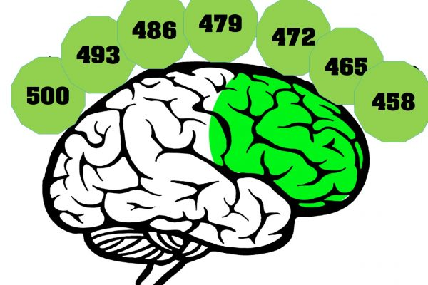 تقویت نیمکره های مغز با شمارش معکوس