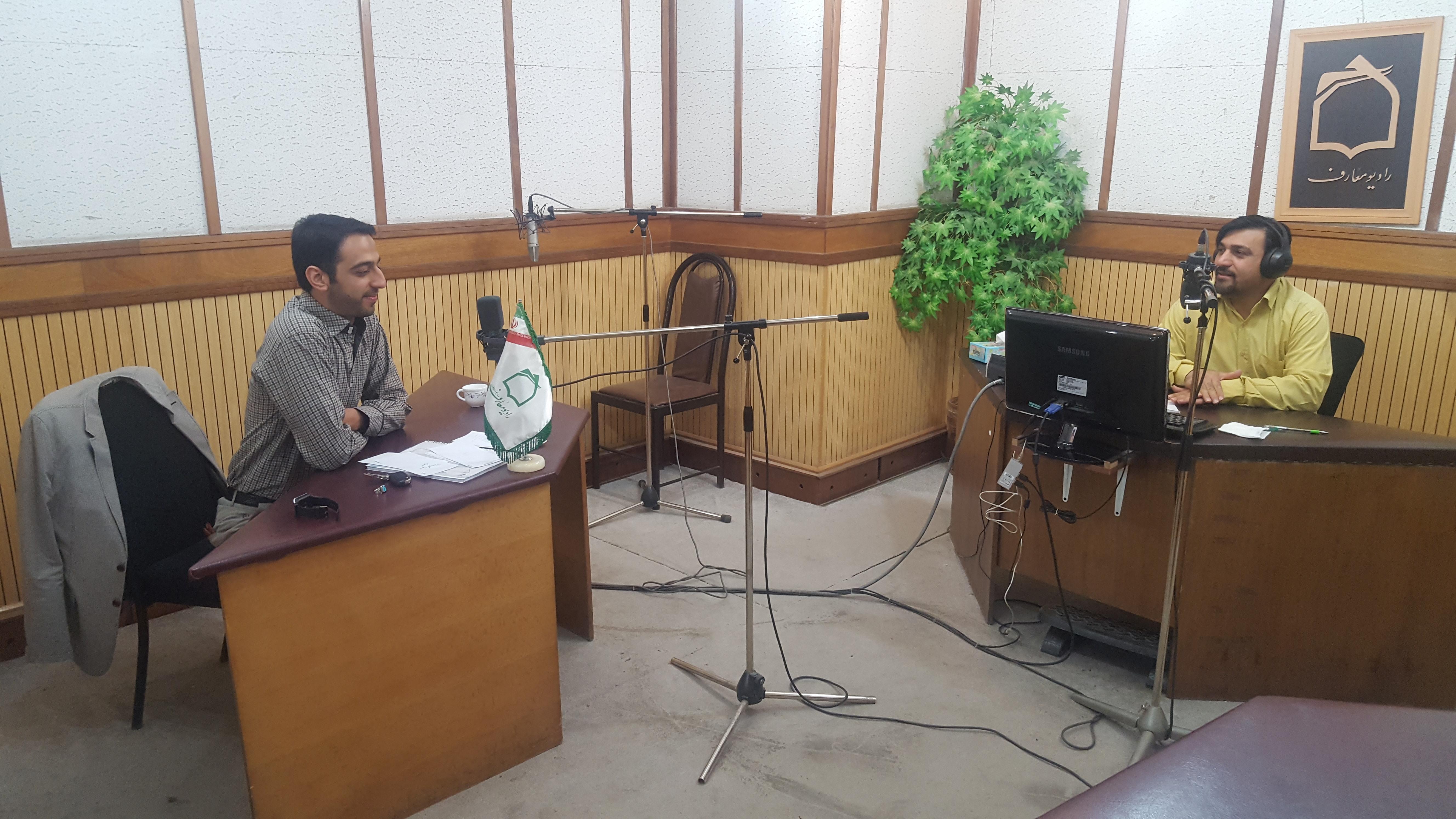 سیدمحمدحسینی رادیو معارف لذت مطالعه