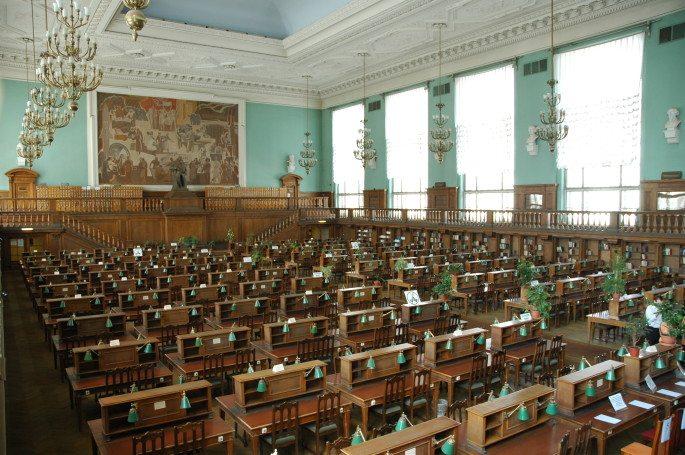 کتابخانه Palafoxiana در روسیه