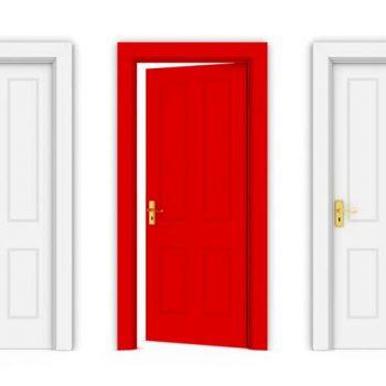 درب های نیمه باز