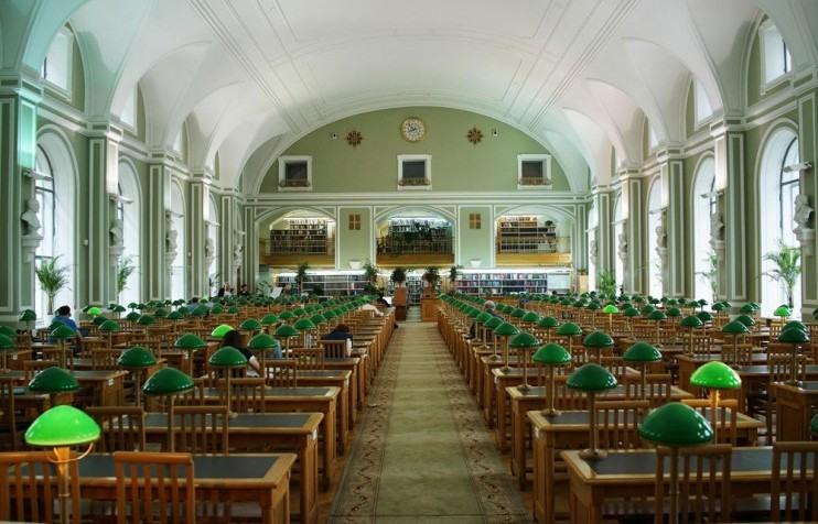 کتابخانه در روسیه