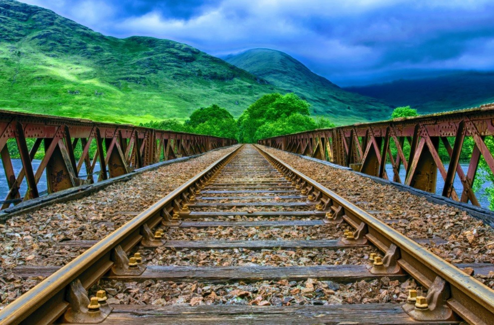ریل راه آهن