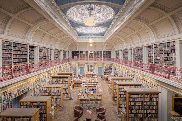 کتابخانه بزرگ در نیوکاسل انگلستان