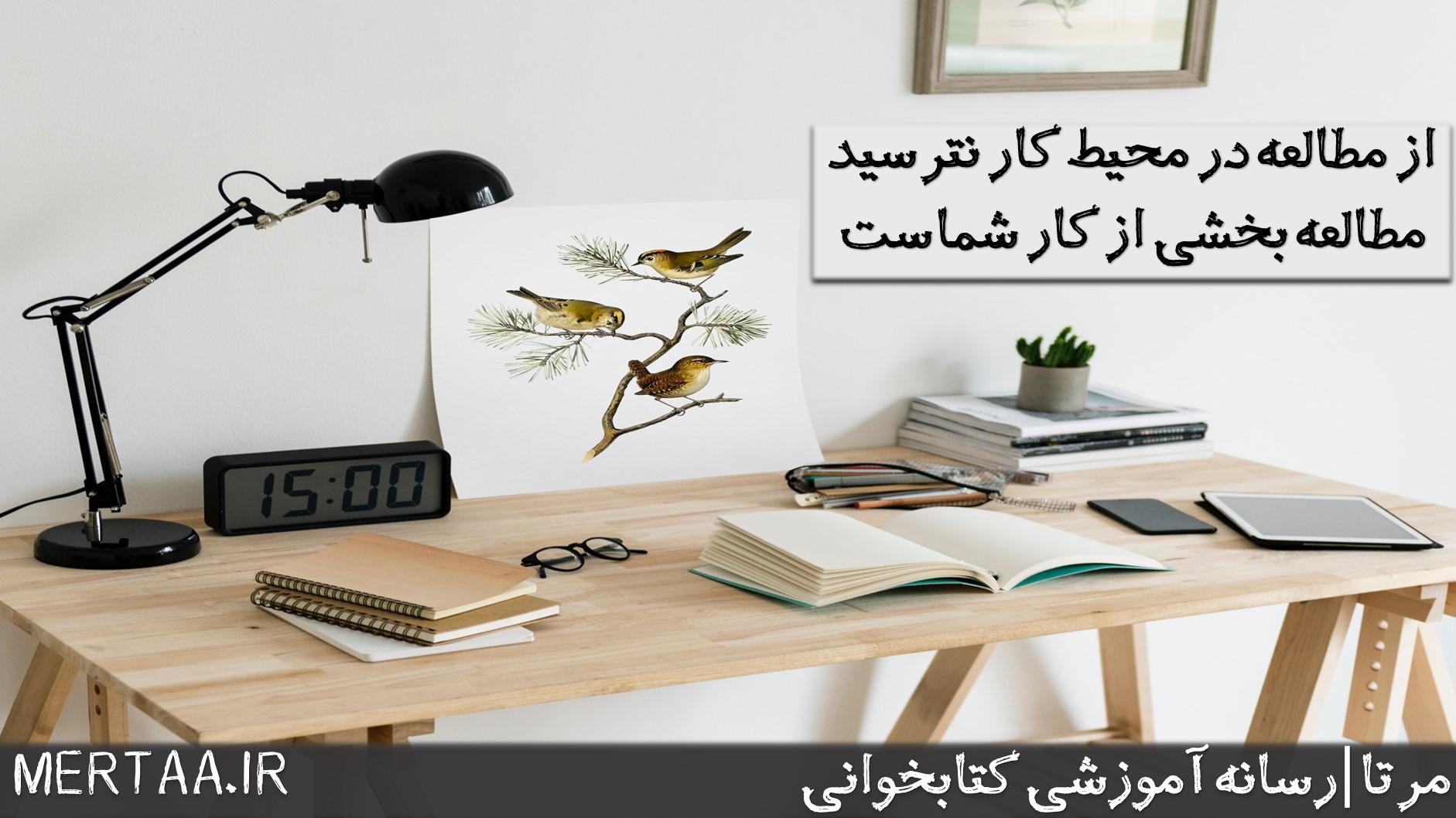 از مطالعه سریع در محل کار نترسید.